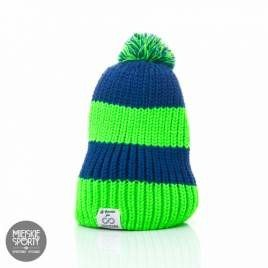 Czapka Zimowa Goodie for Colorshake navy blue/green