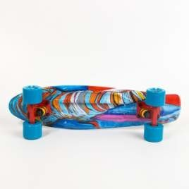 Fish skateboards Art Fish Elephant / Orange / Blue
