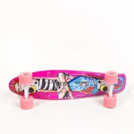 Fish skateboards Art Fish Girl / White / Summer Pink