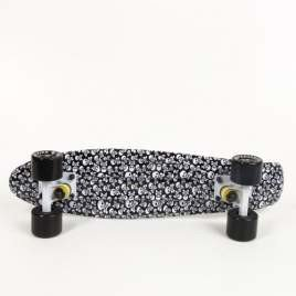 Fish skateboards Raw Head / White / Black