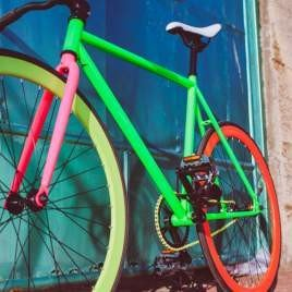 Rower Simple Bikes Fixed Gear PAN KICZ
