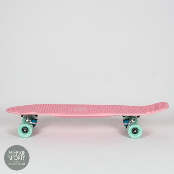 Big Fish Skateboards Summer Pink/ Silver/ Summer Green