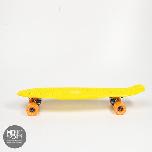 Big Fish skateboards 2014 Yellow/Silver/Orange