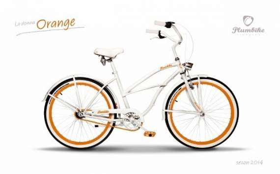 Cruiser Plumbike La Donna Orange