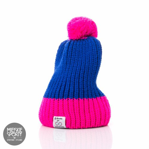 Czapka Zimowa Goodie for Colorshake pink/navy blue