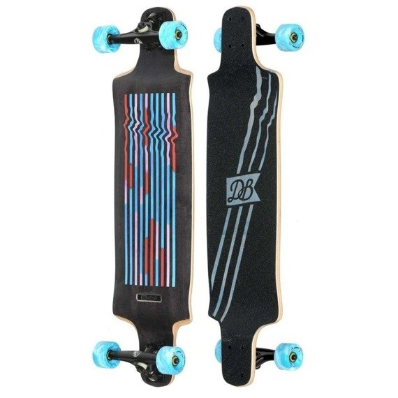 DB Longboards CONTRA MULTI-COLOR Longboard 90 cm