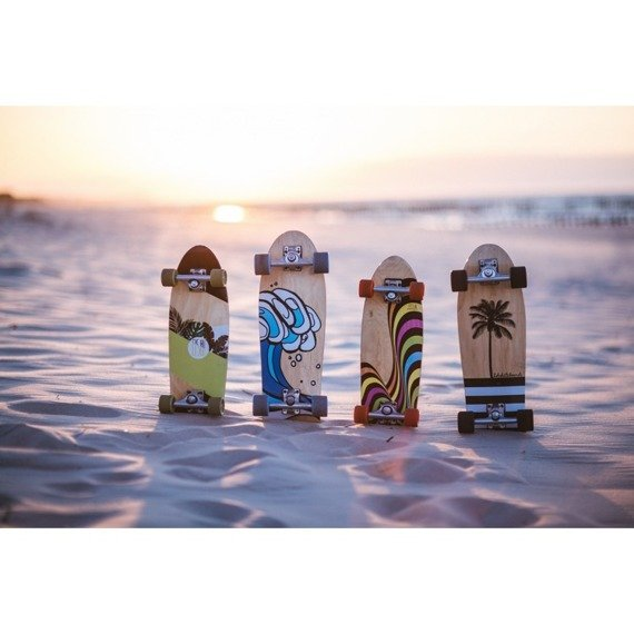 Deska  Surfskate Fish Skateboards Golden Bullet