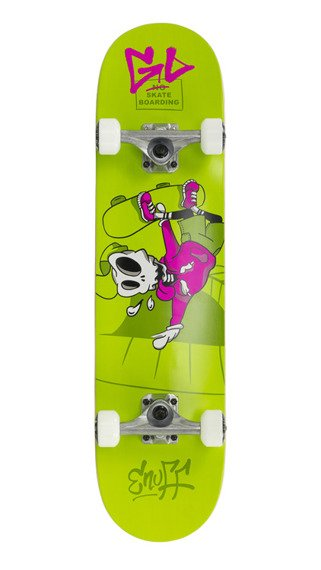 Deskorolka ENUFF SKULLY Mini COMPLETE Green