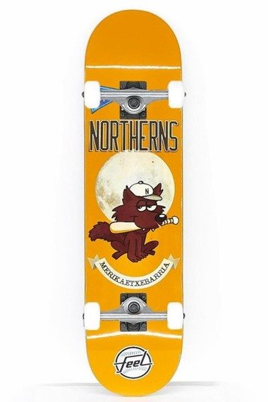 Deskorolka Feel Skateboards Northerns Complete Orange 8,0""