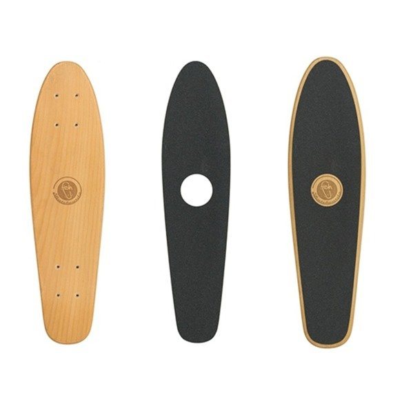 Deskorolka Fish Skateboards Wood Fish 70s