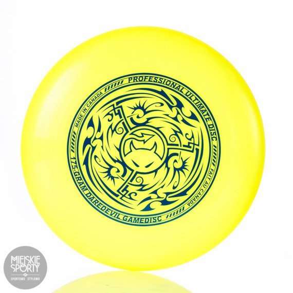 Dysk Frisbee Daredevil Ultimate 175g Tribal Yellow