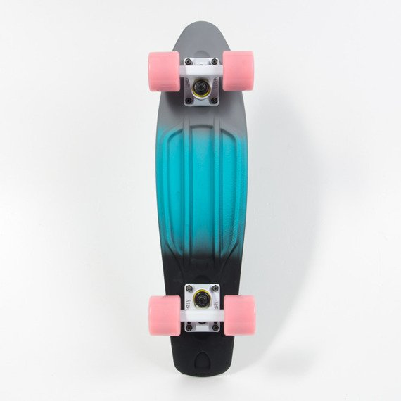Fish Skateboards Tri Color White Summer Pink