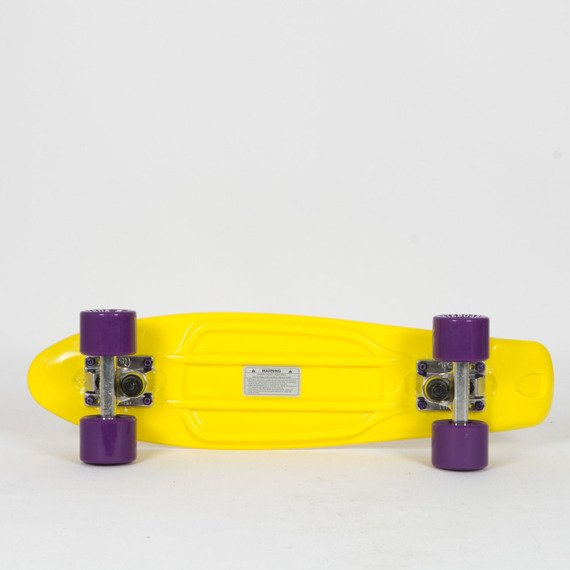 Fish Skateboards Yellow / Silver / Purple