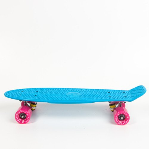 Fish skateboards Blue / Silver / Pink