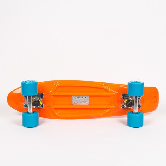 Fish skateboards ORANGE/SILVER/BLUE