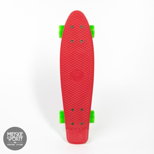 Fish skateboards Red/White/Green