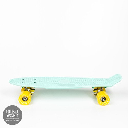 Fish skateboards Summer Green / Silver/ Yellow