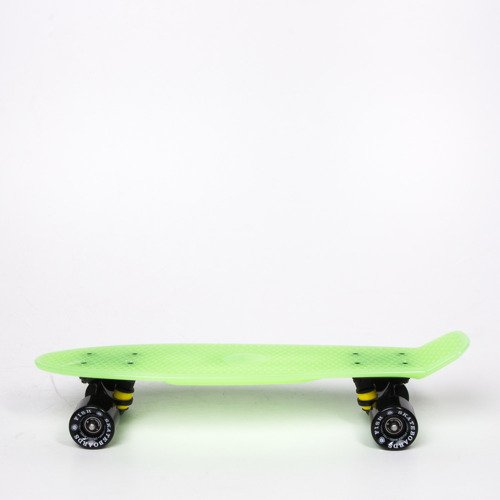 Fishboard Fish Skateboards Glow Green / Black / Black