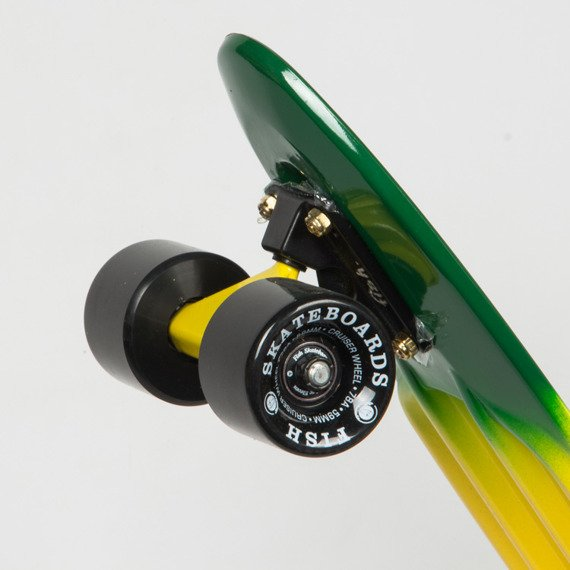 Fishboard Fish Skateboards Rasta