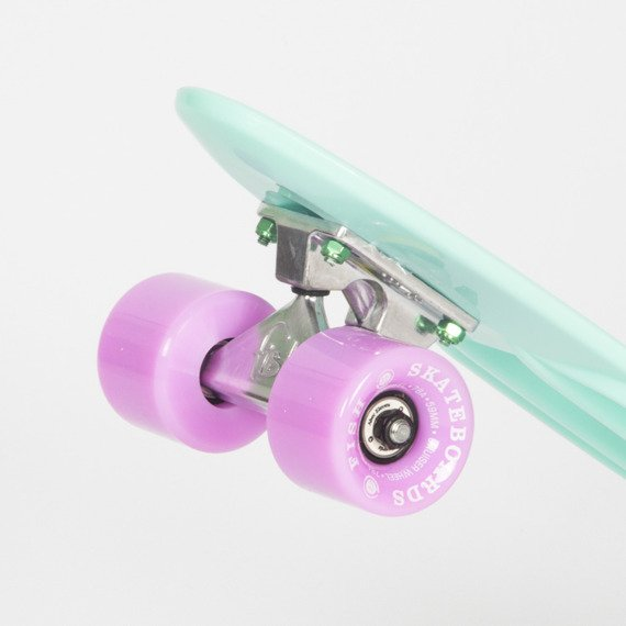 Fishboard Fish Skateboards Summer Green/ Silver/ Summer Purple