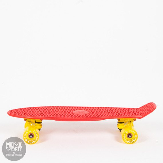 Fishboard Fish skateboards Red / Yellow / Transparent Yellow