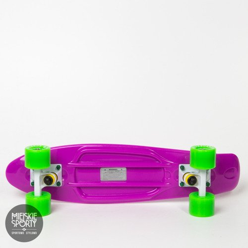 Fishka Fish skateboards Purple / White / Green