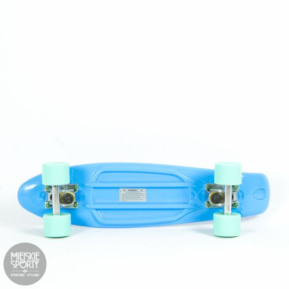 Fiszka Fish Skateboards Blue / Silver / Summer Green