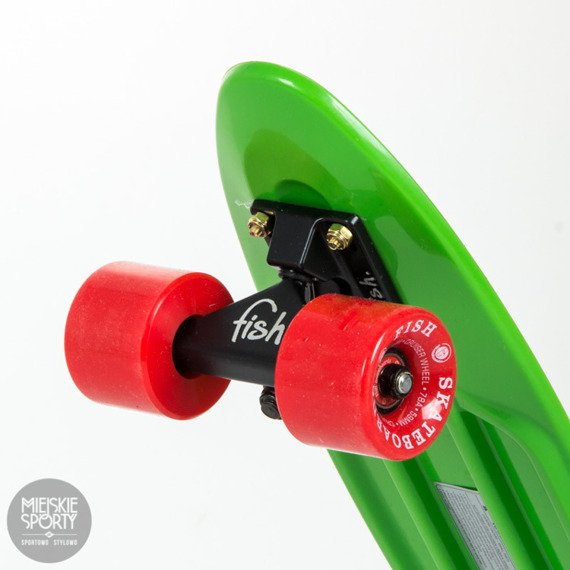 Fiszka Fish Skateboards Green / Black / Red