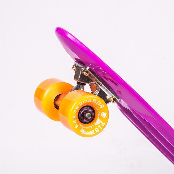 Fiszka Fish Skateboards Purple / Silver / Orange