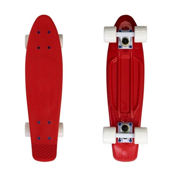 Fiszka Fish Skateboards Red / Red / White