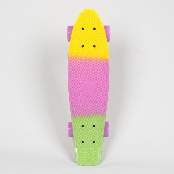Fiszka Fish Skateboards Tricolor Yellow Purple Green
