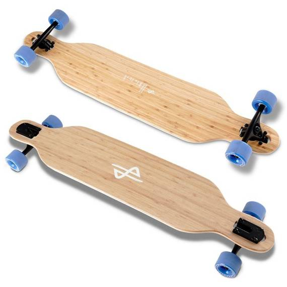 HB Boards Carve Bamboo Longboard 104cm Flex2