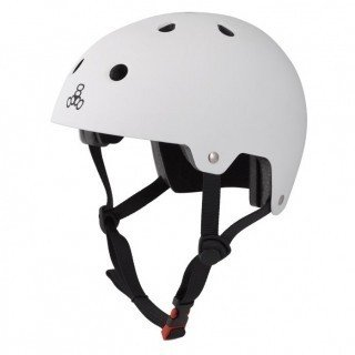 KASK TRIPLE EIGHT BRAINSAVER WHITE