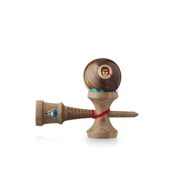 Kendama Krom HEADSHOT Pro Model Walnut - Fischer