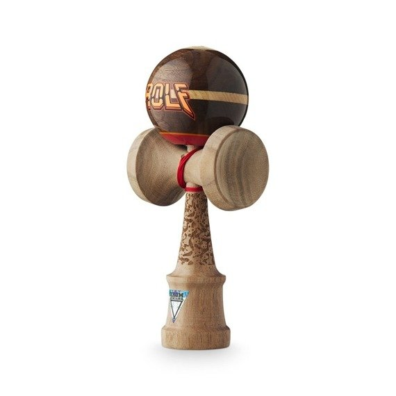 Kendama Krom HEADSHOT Pro Model Walnut - Rolf