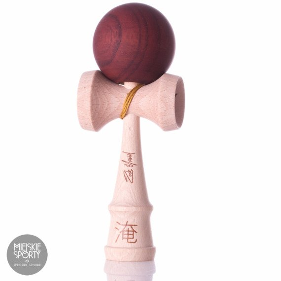 Kendama USA V4 Pro Model Zack Yourd Red Maze