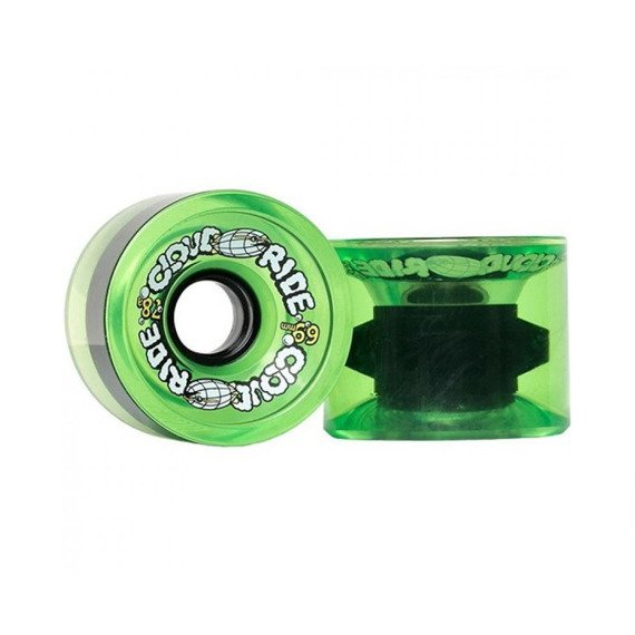 Koła Cloud Ride Cruiser Translucent Neon Green 69 mm 78 a