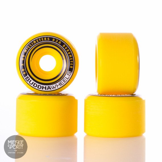 Kółka Buddha Wheels Dakini Yellow 60mm 83a