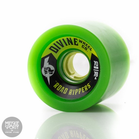 Kółka DIVINE ROAD RIPPERS 70MM 78A GREEN