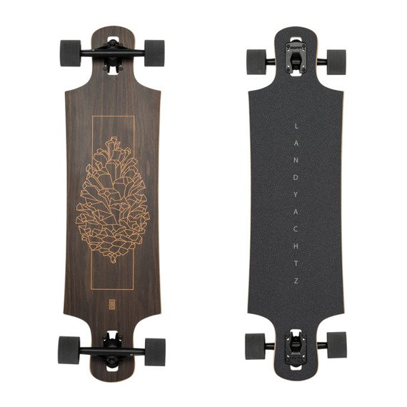 Landyachtz Maple Drop Hammer Walnut Longboard 93 cm