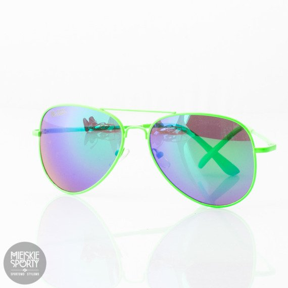 OKULARY BLOCX KAMIKAZE GREEN