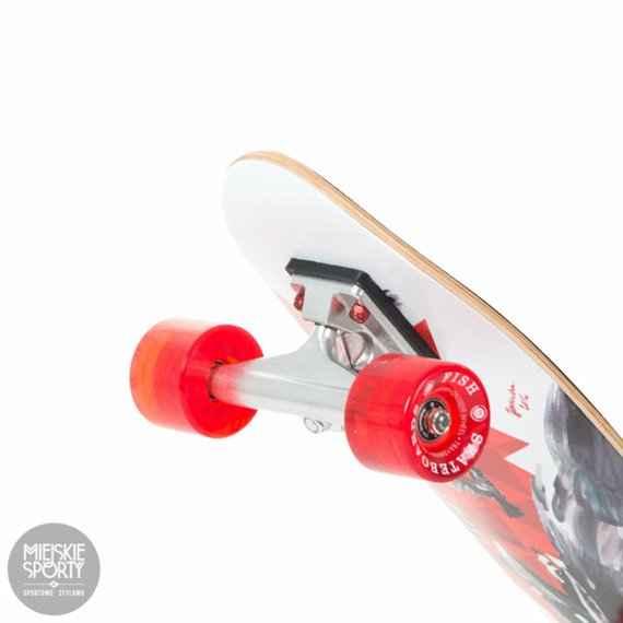 Shortboard Fish Skateboards Crow Red