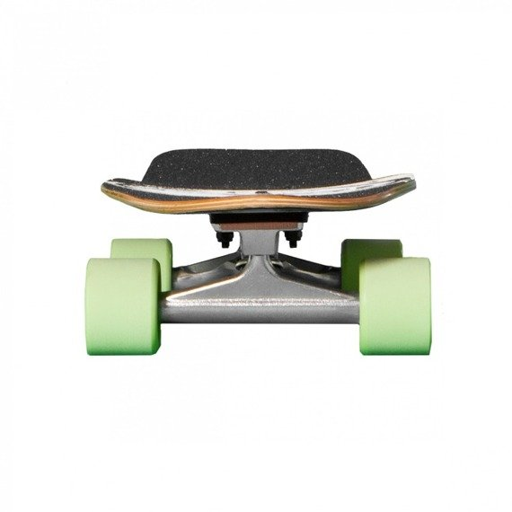 Shortboard Fish Skateboards Jungle/Silver/Green