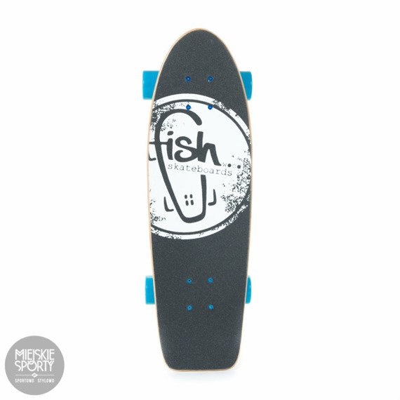 Shortboard Fish Skateboards Narwhal Blue