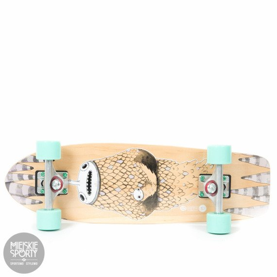 Shortboard Fish Skateboards Narwhal Summer Green