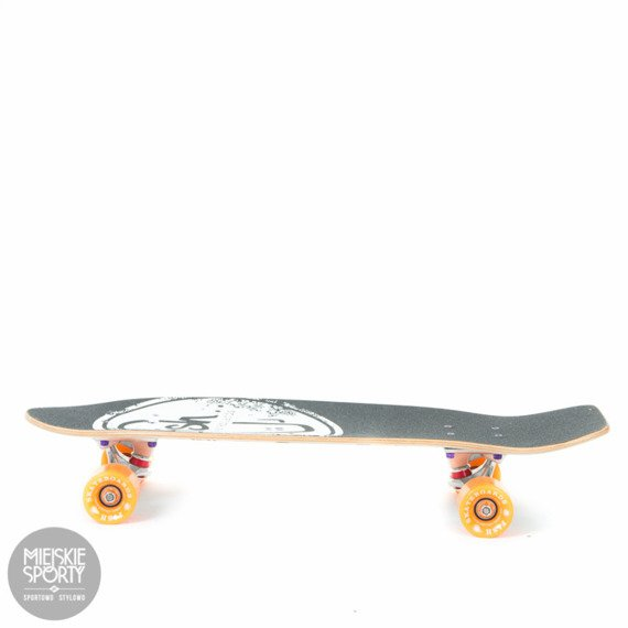 Shortboard Fish Skateboards Party Orange