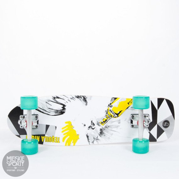 Shortboard Fish Skateboards Tequila Night Transparent Green