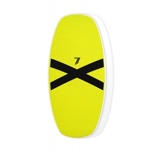 Skimboard Seventyone 660 Yellow Black X edition