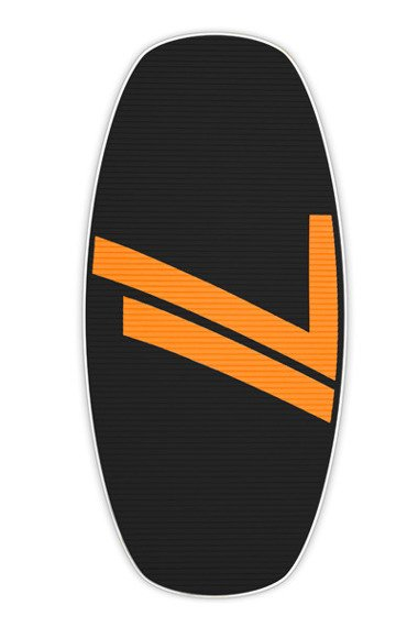 Skimboard Seventyone 665 Black Orange
