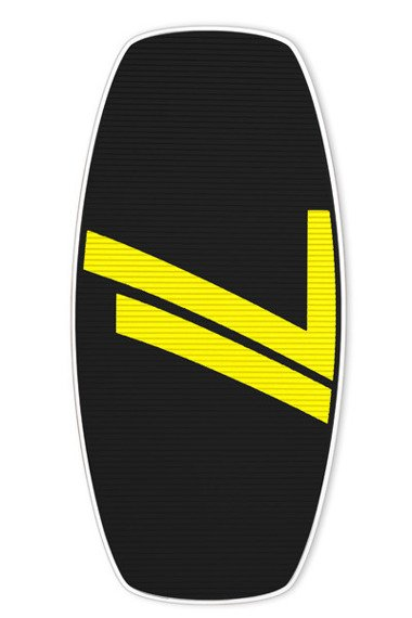 Skimboard Seventyone 667 Black Yellow